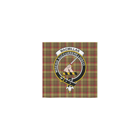 MacMillan Old Weathered Tartan Towel Clan Badge | 1sttheworld.com