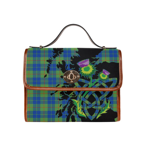 Barclay Hunting Ancient Thistle Canvas Handbags | Waterproof Bags | Scottish Clans