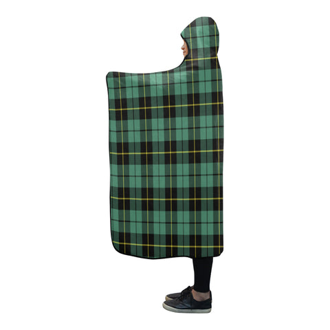 Wallace Hunting Ancient Tartan Hooded Blanket - BN