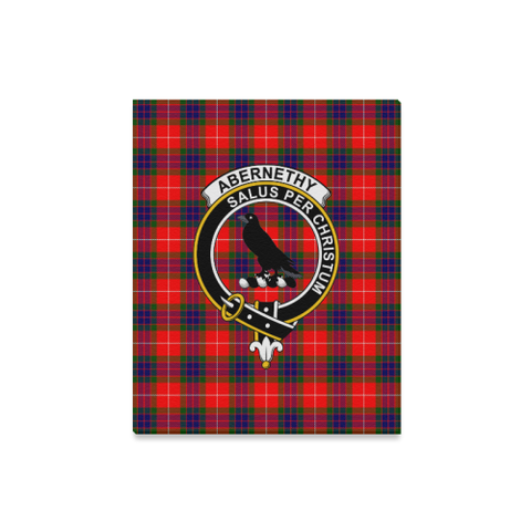 Tartan Canvas Print - Abernethy Clan | Over 300 Scottish Clans and 500 Tartans