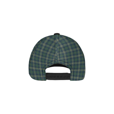 Kennedy Modern Clan Badge Tartan Dad Cap - BN03