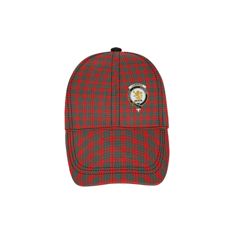 Image of Cumming Modern Clan Badge Tartan Dad Cap - BN03