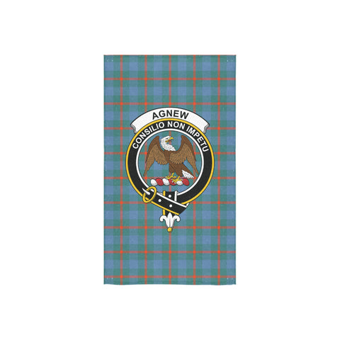Agnew Ancient Tartan Towel Clan Badge NN5
