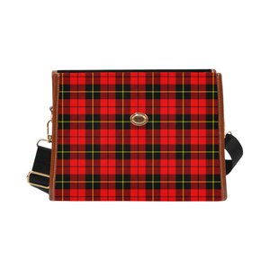 Wallace Hunting - Red Canvas Handbag