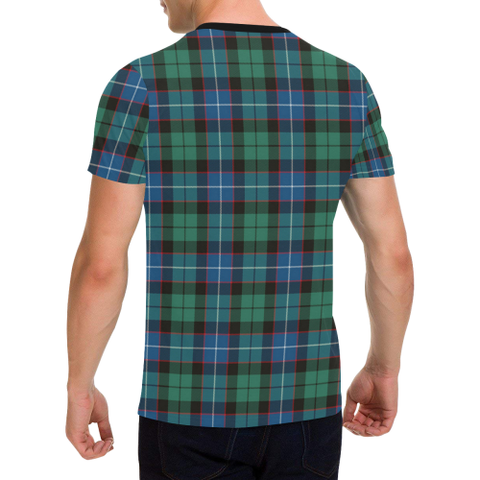 Image of Hunter Ancient Tartan T-Shirt | Scottish Pocket Tees | Men & Women Clothing
