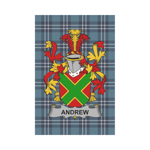 Image of Andrew Tartan Flag Clan Badge K9 |Home Decor| 1sttheworld