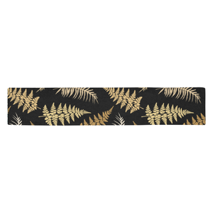 New Zealand Table Runner - Silver Fern 03 A2