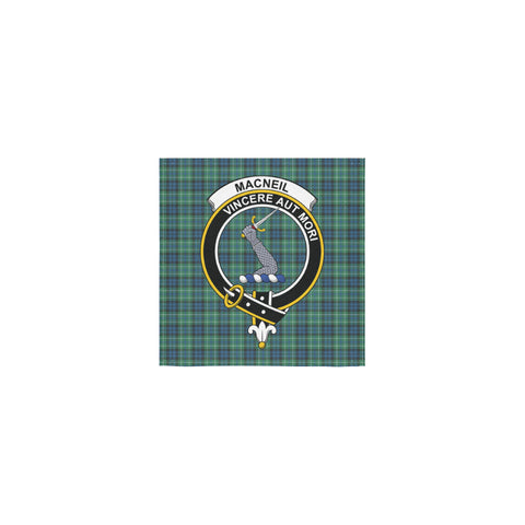 MacNeill of Colonsay Ancient Tartan Towel Clan Badge | 1sttheworld.com