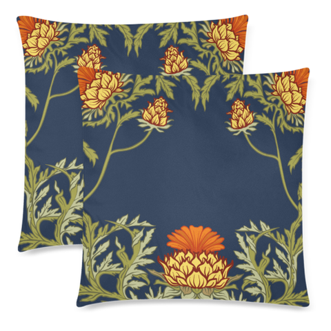 Thistle 11 Zippered Pillow Cases A1