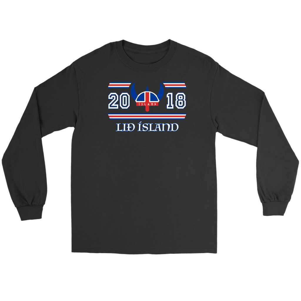 b28bf064596 Liđ Ísland World Cup 2018 T-shirt - Love Iceland – LoveTheWorld