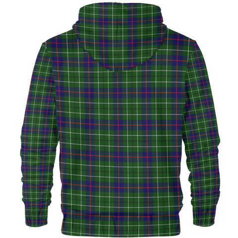Duncan Clan Tartan Zip Hoodie | Men & Women | Clothing