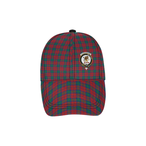 Image of Fotheringham (Lindsay Modern) Clan Badge Tartan Dad Cap - BN03