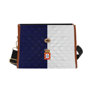 Kingdom of Portugal Flag Waterproof Canvas Bag Z2