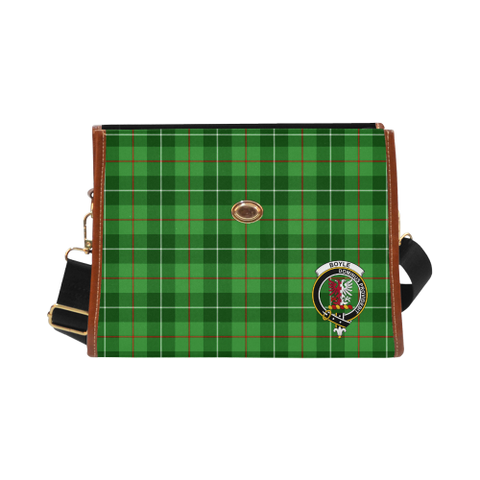 Image of Tartan Canvas Bag - Boyle Clan | Over 300 Clans | Order Online