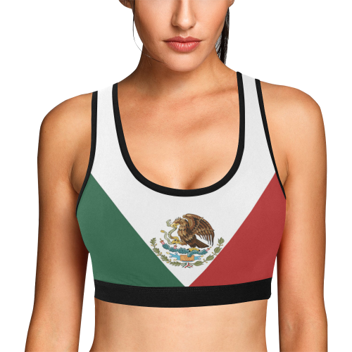 e8a56c80be Mexico Sports Bra - Coat Of Arms – LoveTheWorld