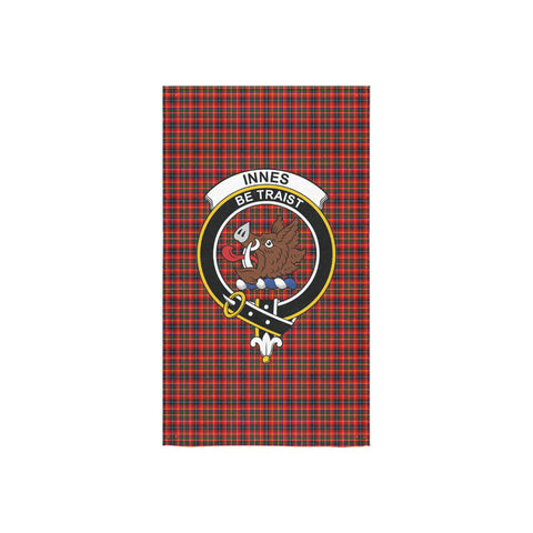 Innes Modern Tartan Towel Clan Badge NN5
