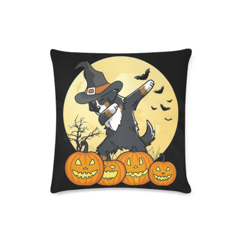 Image of Swiss Bernese Mountain Dab Dance Halloween Pillow Covers K5