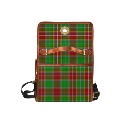 Tartan Canvas Bag - Baxter Clan | Waterproof Bag | Scottish Bag