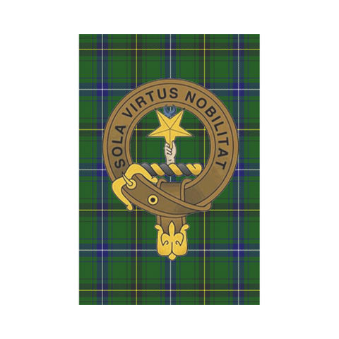 Image of Henderson Modern Tartan Flag Clan Badge K9 - (New) |Home Decor| 1sttheworld