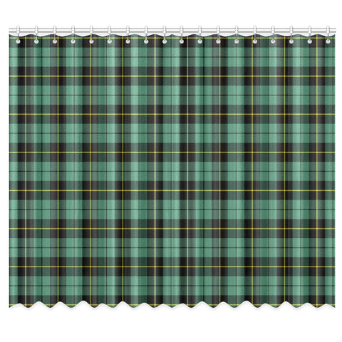 Image of Wallace Hunting Ancient Tartan Window Curtain - Bn