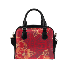Hawaiian Handbag Hawaii Polynesian Hibiscus Men/Women Accessories H9