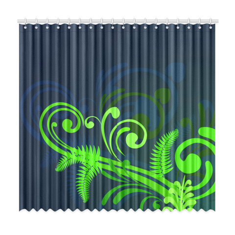 Special Edition of New Zealand Fern - Fern Window Curtain