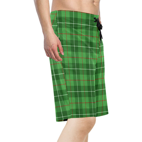 Galloway District Tartan Board Shorts  - BN