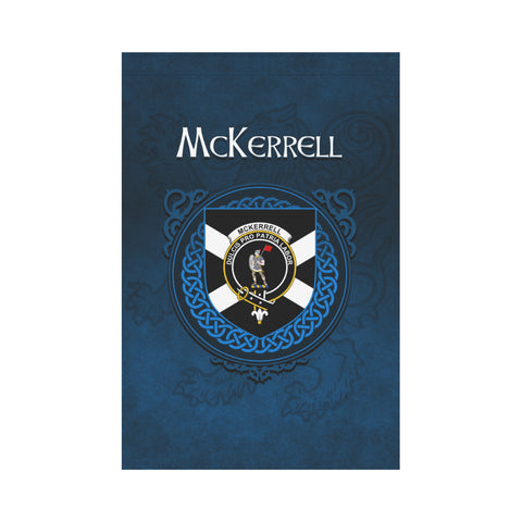 McKerrell Crest Scotland Garden Flag (Blue) | Over 300 Clans