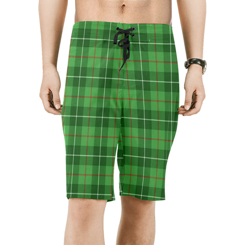 Galloway District Tartan Board Shorts | 1sttheworld.com