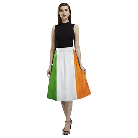 IRELAND FLAG AOEDE CREPE SKIRT A1