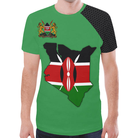 Image of Kenya Map Special T-Shirt | High Quality | Hot Sale