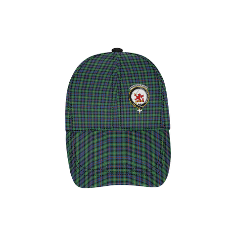 Farquharson Ancient Clan Badge Tartan Dad Cap - BN03