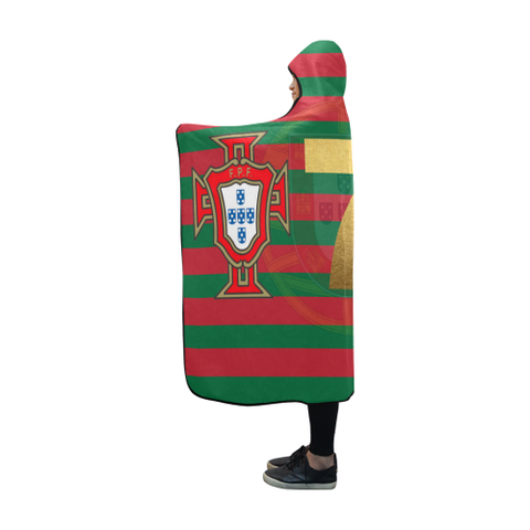 Image of Portugal Forca 7 World Cup Hooded Blanket - Bn04 | Love The World