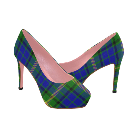Image of Maitland Tartan Heels - Women's Tartan High Heels Th8 |Footwear| 1sttheworld