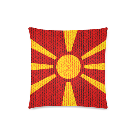 Love The World | Macedonia Pillow Case - Macedonia Flag | Special Custom Design