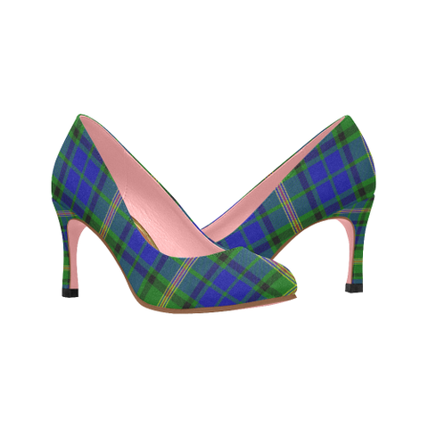 Maitland Tartan Heels - Women's Tartan High Heels Th8 |Footwear| 1sttheworld