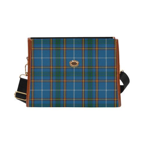 Image of Bain Tartan Plaid Canvas Bag | Online Shopping Scottish Tartans Plaid Handbags