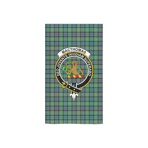 MacThomas Ancient Tartan Towel Clan Badge NN5