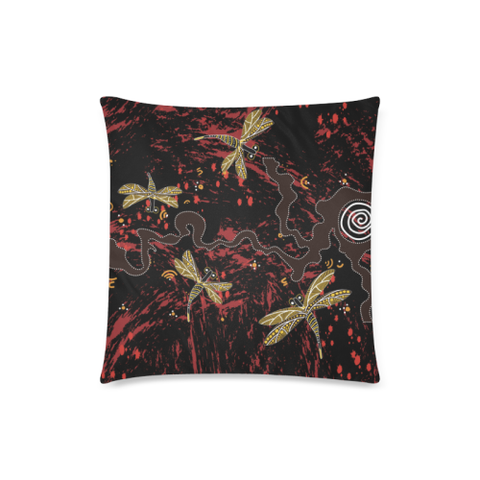 Australia Aboriginal Pillow Covers Dragonfly Nn9