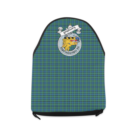 CAMPBELL TARTAN CLAN BADGE CROSSBODY BAG NN5