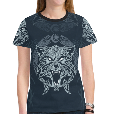 Image of Wolf Celtic T-Shirt H4