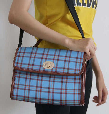 Tartan Bag - Elliot Ancient Canvas Handbag A9
