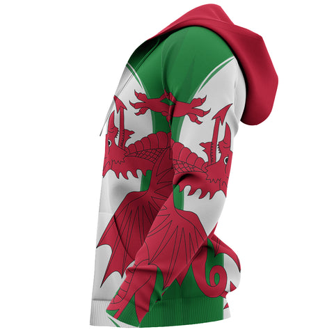 Image of Endless Wales Unisex Hoodie - Sleeves