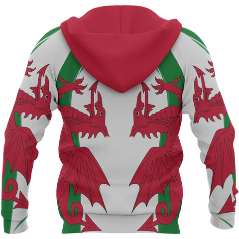 Image of Endless Wales Unisex Hoodie - Back