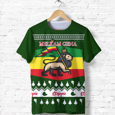 Image of Ethiopia Christmas T shirt K5