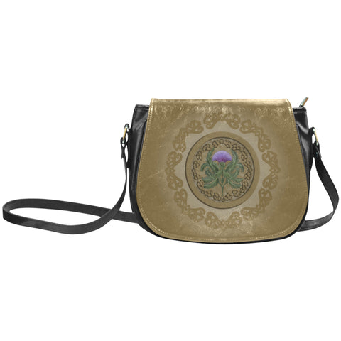 Thistle Scottish Luxury Saddle Bag - BN01
