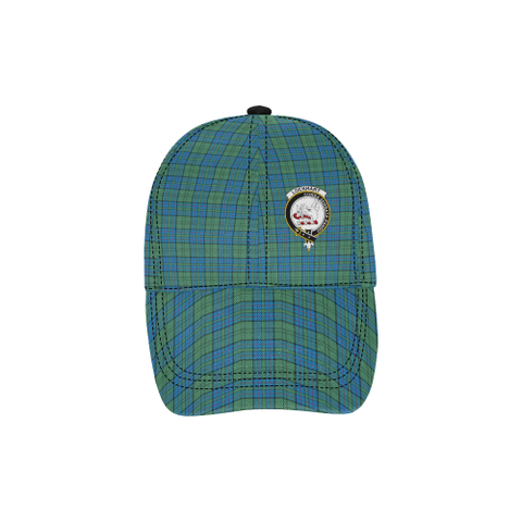 Lockhart Clan Badge Tartan Dad Cap - BN03