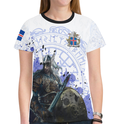 c2bd629d284 Iceland Viking World Cup 2018 T-Shirt A5. Tap to expand