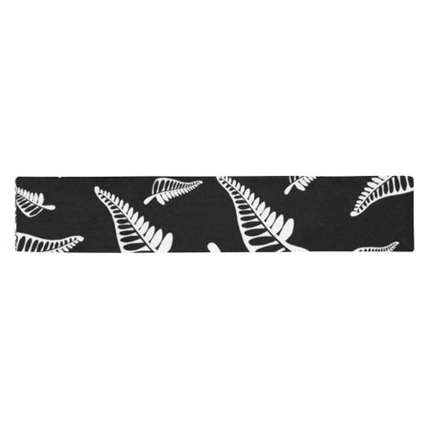 New Zealand Table Runner - Silver Fern 02 A2
