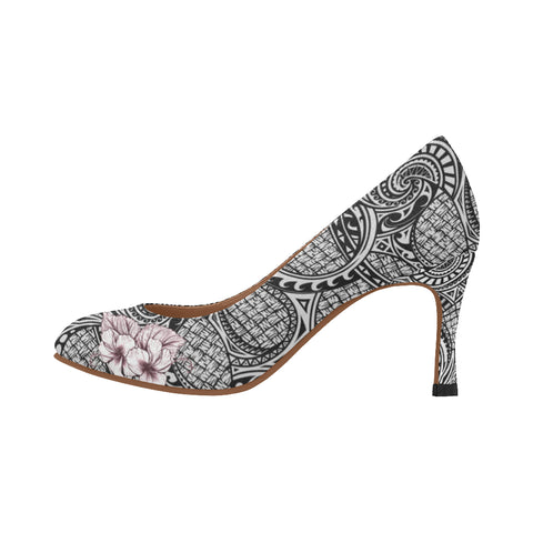 Image of Polynesia Hibicus High Heels A8 |Footwear| 1sttheworld